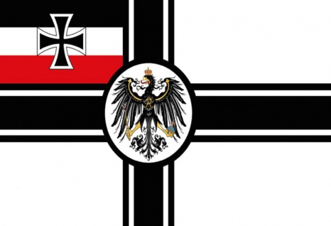 Deutscheland flagge reichsfahne adler blechschild