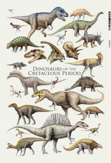 Dinosaurs Cretaceous Period Dinosaurier Geschicht Kinderzimmer