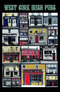 Schatzmix Blechschild West Cork Irish Pubs Metallschild 20x30 cm Wanddeko tin sign