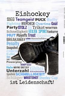 Eishockey - ist leidenschaft! Sport blechschild