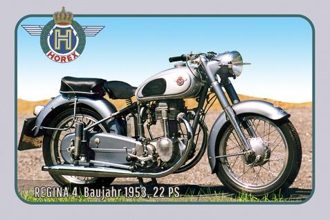 Horex Regina 400 1954 22PS motorrad, motor bike, motorcycle blechschild