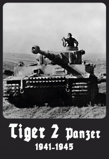 Militär, Retro: Tiger 2 Panzer 1941-1945 Metallschild 20x30 Deko tin sign