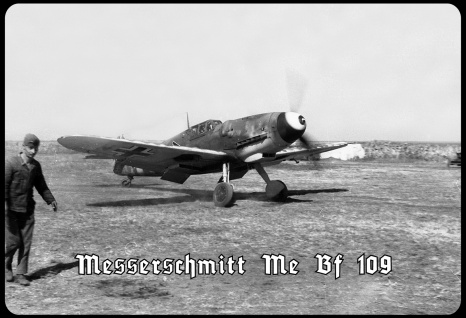 Blechschild Messerschmidt Me Bf 109 Metallschild Wanddeko 20x30 tin sign