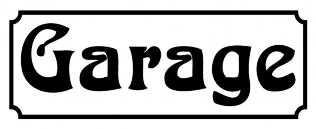 Blechschild Spruch Nostalgie Garage Metallschild 27x10 cm Wanddeko tin sign
