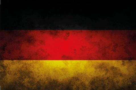 Länder Fahne - Deutschland - National Flagge Germany blechschild, dekoschild, retro