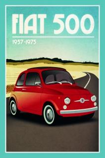 Fiat 500 1957-1975 blechschild
