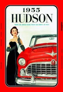 Hudson American Auto 1955 reklame blechschild