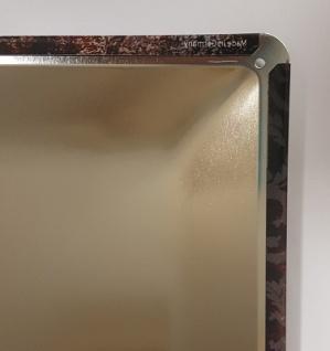 Blechschild Spruch Geheimnis einer sauberen Wohnung Metallschild 20x30 Deko - Vorschau 2