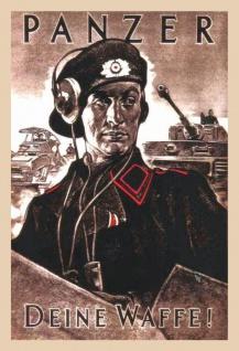Panzer Deine Waffe Wehrmacht soldat bundeswehr blechschild
