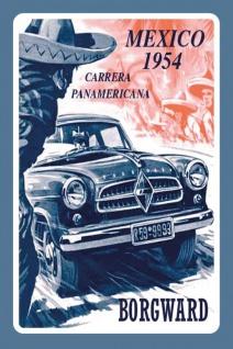 Bogward Mexico 1954 auto reklame