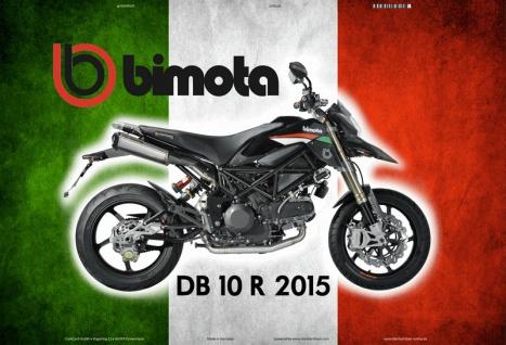 Bimota DB 10R 2015 Italien motorrad blechschild