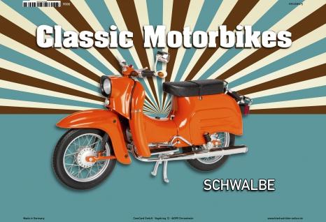 Schwalbe Classic Scooter Blechschild