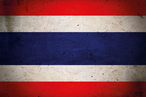 Blechschild Thailand Nationalflagge Metallschild Wanddeko 20x30cm tin sign
