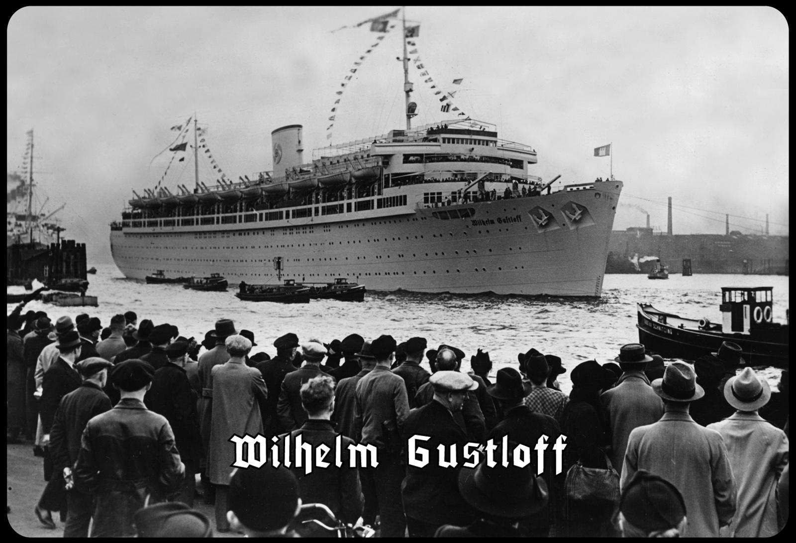 Blechschild Wilhelm Gustloff (Schiff im Hafen) Metallschild Deko 20x30 tin  sign - Kaufen bei ComCard GmbH