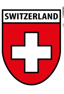 Switzerland wappen Schweiz blechschild