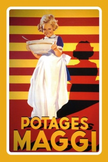 Maggi Potages reklame blechschild