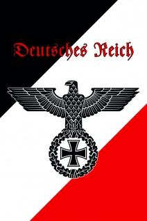 Deutsches Reich blechschild