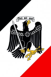 Gott Mit Uns Adler blechschild