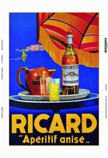 Ricard Aperitif Anis blechschild