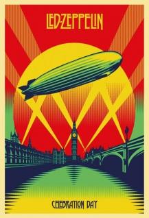 Led Zeppelin Celebration Day Blechschild 20x30 cm