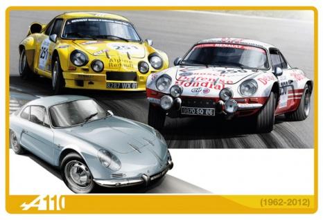 Renault A110 rennauto 1962-2012