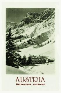 Nostalgie: Austria Österreich Autriche Blechschild 20x30c cm