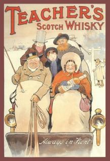 Teachers Scotch Whisky blechschild