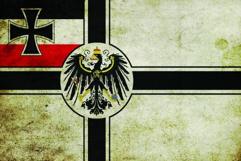 Deuschland fahne länder flagge mit adler blechschild