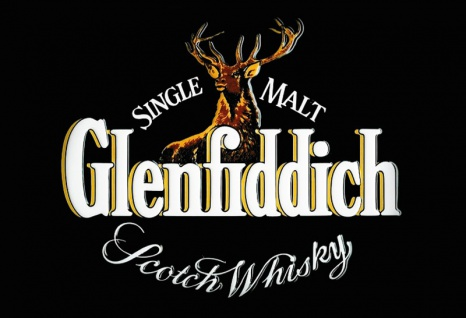 Glenfiddich Scotch Whisky label Black blechschild