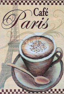 Blechschild Kaffee Café Paris Metallschild Wanddeko 20x30 cm tin sign