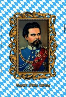 Konig Ludwig von Bayern Blechschild