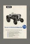 Hatz TL13 13 PS diesel schlepper traktor trekker blechschild