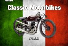 Garelli 350CC Italien Classic Motorrad Blechschild