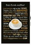 But first coffee! Kaffee Blechschild
