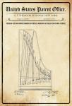US Patent Office - Design for an improvement in Duplex Agraffe Scales for Pianoforte - Entwurf für einen Verbesserung der klavier - Stenway - 1872 - Design No 126848 - Blechschild
