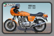 Laverda 1000 Jota 1972-1987 motorrad, motor bike, motorcycle blechschild