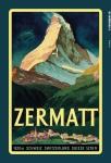 Zermatt Schweiz Switzerland 1620m urlaub reklame blechschild