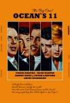 Oceans 11, Sinatra, martin, Davis, Dickinson film plakate blechschild