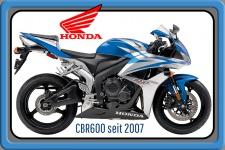 Honda CBR 600 2007 120PS motorrad, motor bike, motorcycle blechschild
