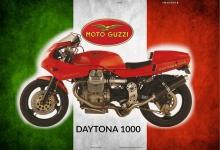 Moto Guzzi Daytona 1000 italien motorrad blechschild