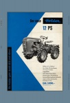 Holder A12 Cultitrac 12PS allzweck schlepper trekker traktor blechschild