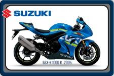 Suzuki GSX-R 1000 2005 202PS motorrad, motor bike, motorcycle blechschild