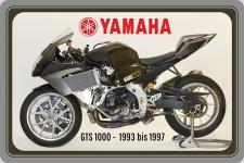 Yamaha GTS 1000 1993-1997 motorrad, motor bike, motorcycle blechschild