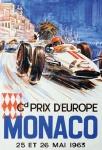 Formel 1 Grand Prix Monaco 1973 Autorennen blechschild