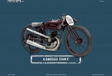 Garelli 350CC Blechschild