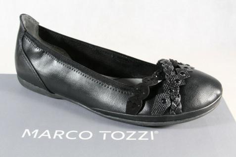 Marco Tozzi Ballerinas Slipper Halbschuhe Pumps schwarz 22126 NEU!!