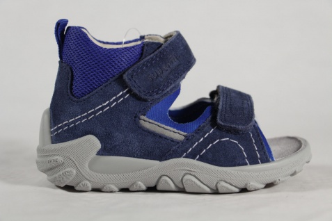 Superfit Knaben Lauflern Schuhe Sandalen Echtleder blau Neu - Vorschau 2