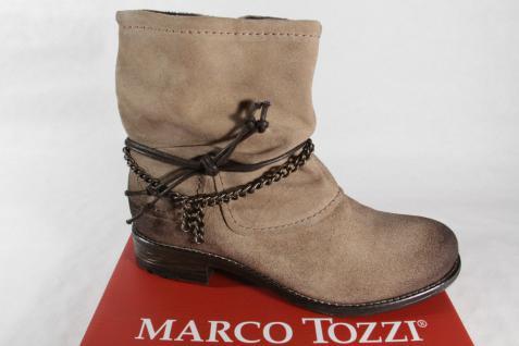 Marco Tozzi beige Damen Stiefel Stiefeletten Stiefel Winterstiefel beige Tozzi Leder 25456 NEU 6f4c93