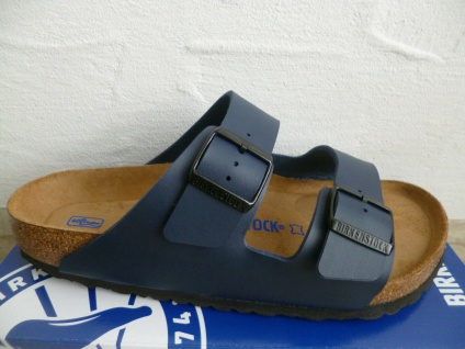 Birkenstock Arizona Pantolette Sandale Hausschuh Blue/Blau 51061 NEU!