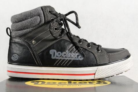 Dockers Jungen Jungen Dockers Stiefel Stiefeletten Boots schwarz NEU Beliebte Schuhe 410697